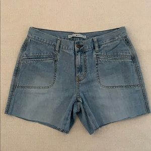 Tommy Hilfiger Cut Out Light wash Jeans Shorts